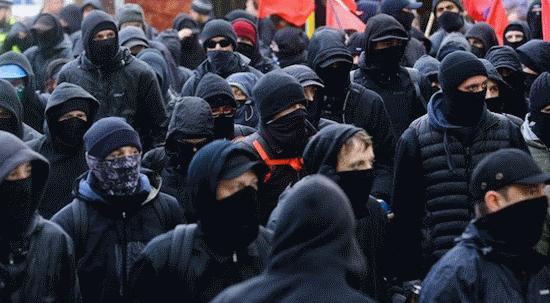 Black Masked Mob
