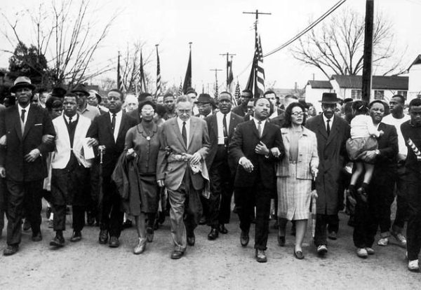 Civil rights march on 30 March 1965