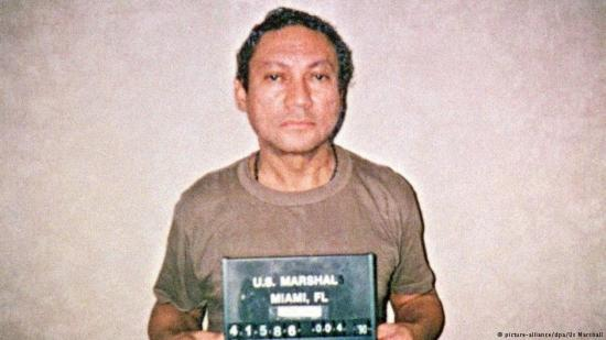 Manuel Noriega's mug shot