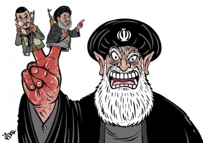 Iran - Houthis - Hezbollah terrorism