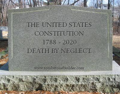 Constitution Tombstone
