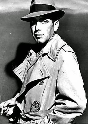 "Humphrey Bogart in ""The Maltese Falcon"""