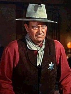 John Wayne in Rio Bravo - 1959