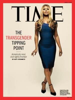 TIME - transgender cover