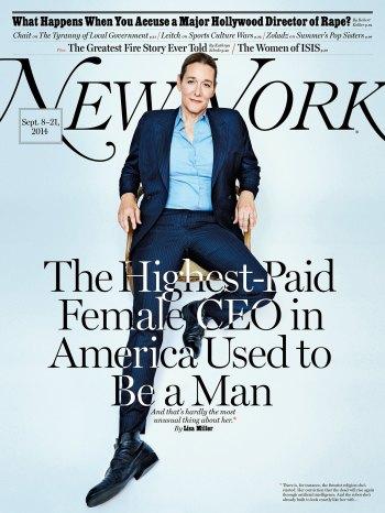 Transgender CEO Martine Rothblatt in New York
