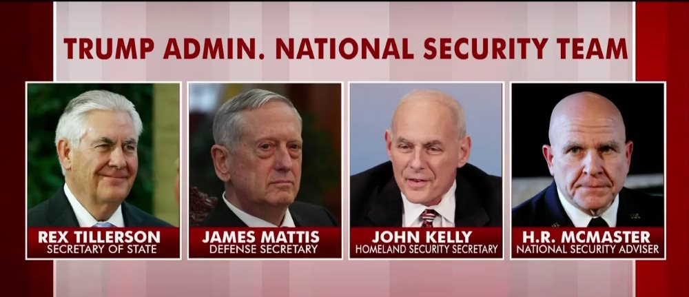 Trump National Security Team