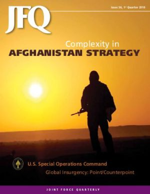 Optimism about our Afghanistan strategy in January 2010