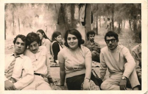 Baghdad in 1970, unattributed photo.