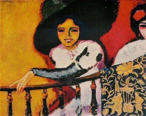 """Women at the Balustrade"" by Kees van Dongen (1911)."
