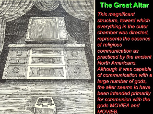 Motel of the Mysteries-the great altar